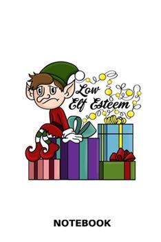 Paperback Low Elf Esteem : Funny Christmas Diary Book