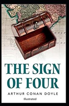 Paperback The Sign of the Four Illustrated Book