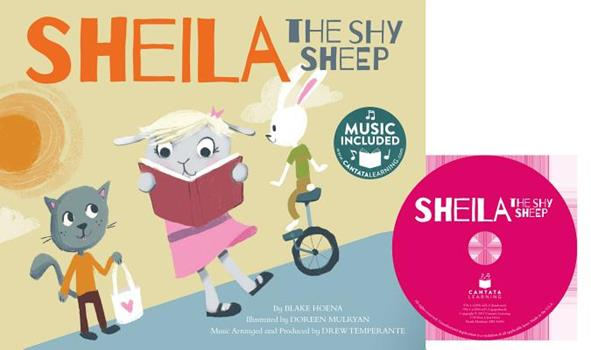 Paperback Sheila the Shy Sheep [With CD (Audio)] Book