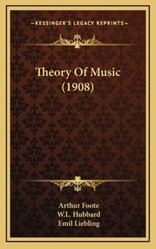 Hardcover Theory of Music Book