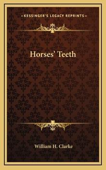 Hardcover Horses' Teeth Book