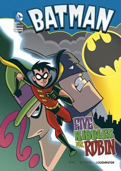 Five Riddles for Robin (Batman) - Book  of the DC Super Heroes: Batman