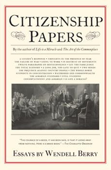 Citizenship Papers: Essays 1619024470 Book Cover