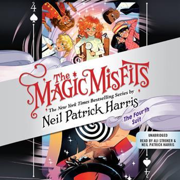 The Magic Misfits: The Fourth Suit Lib/E 1549106716 Book Cover