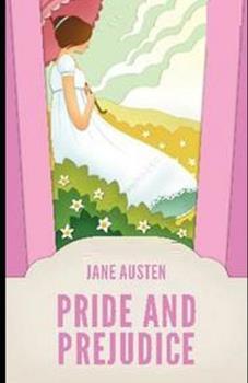 Paperback Pride and Prejudice Illustrated Book