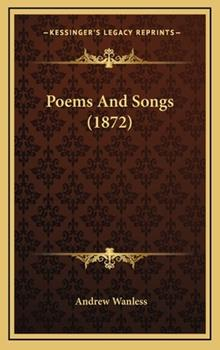 Hardcover Poems and Songs (1872) Book