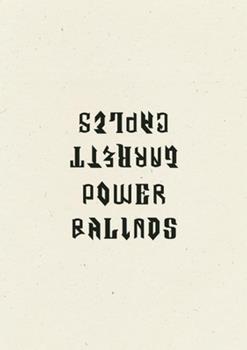 Power Ballads 1940696372 Book Cover