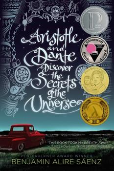 Paperback Aristotle and Dante Discover the Secrets of the Universe Book
