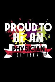 Paperback Proud to Be a Physician Citizen : 110 Game Sheets - 660 Tic-Tac-Toe Blank Games - Soft Cover Book for Kids - Traveling & Summer Vacations - 6 X 9 in - 15. 24 X 22. 86 Cm - Single Player - Funny Great Gift Book