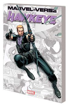 Paperback Marvel-Verse: Hawkeye Book