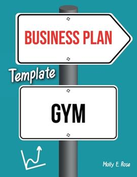 Paperback Business Plan Template Gym Book