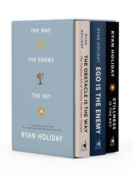 The Way, the Enemy, and the Key: A Boxed Set of the Obstacle Is the Way, Ego Is the Enemy & Stillness Is the Key 0593086929 Book Cover