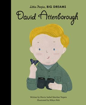 David Attenborough - Book  of the Pequeño & GRANDE