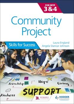 Paperback Community Project for the Ib Myp 3-4 Book