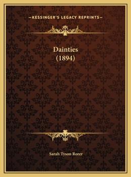 Hardcover Dainties Book