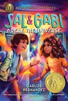 Paperback Sal and Gabi Break the Universe Book