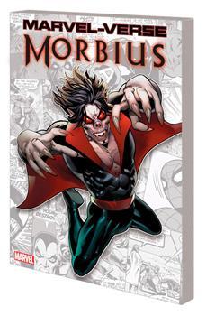 Paperback Marvel-Verse: Morbius Book