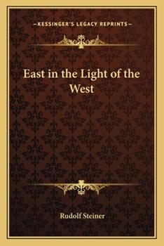 Paperback East in the Light of the West Book