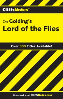 Paperback Cliffsnotes on Golding's Lord of the Flies Book