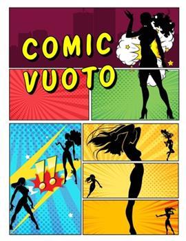 Paperback Comic vuoto: crea i tuoi fumetti, scrivi storie per bambini e adulti di tutte le et? con una variet? di modelli [Italian] Book