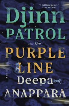 Hardcover Djinn Patrol on the Purple Line : A Novel Book
