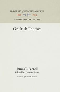On Irish Themes 0812211324 Book Cover