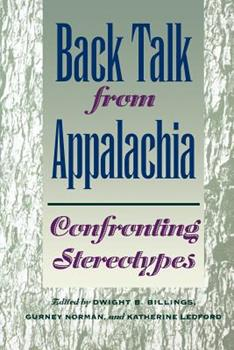 Paperback Back Talk from Appalachia: Confronting Stereotypes Book