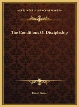 Hardcover The Conditions of Discipleship Book