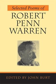 Selected Poems of Robert Penn Warren 0807126772 Book Cover