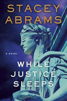 Hardcover While Justice Sleeps Book