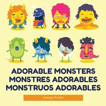 Paperback Adorable Monsters Book