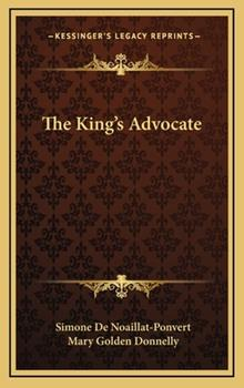Hardcover The King's Advocate Book