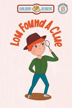 Paperback Lou Found a Clue Book