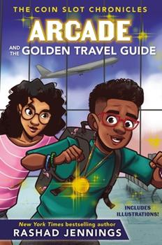 Hardcover Arcade and the Golden Travel Guide Book