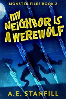 Paperback My Neighbor Is A Werewolf: Large Print Edition [Large Print] Book