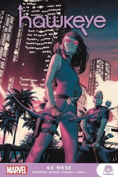 Paperback Hawkeye: Go West Book
