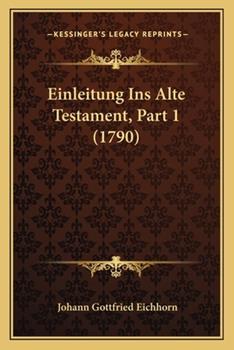 Paperback Einleitung Ins Alte Testament, Part Book