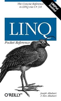 Paperback Linq Pocket Reference: Learn and Implement Linq for .Net Applications Book