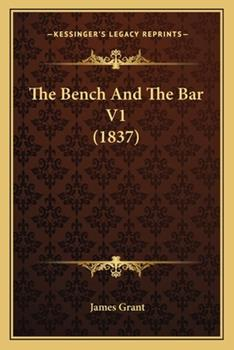 Paperback The Bench and the Bar V1 Book