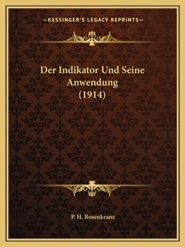 Paperback Der Indikator Und Seine Anwendung Book