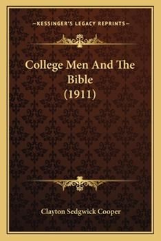 Paperback College Men and the Bible Book