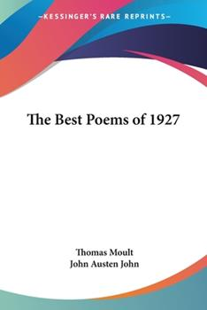 Paperback The Best Poems Of 1927 Book