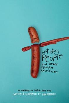 Paperback Hotdog People and Other Bitesize Sacrifices Book