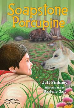 Soapstone Porcupine - Book  of the Orca Echoes