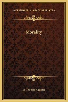 Hardcover Morality Book