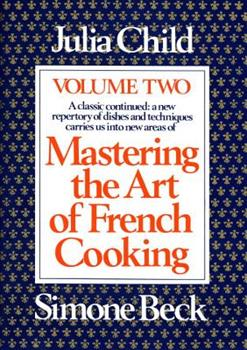 Hardcover Mastering the Art of French Cooking, Volume 2 : A Cookbook Book