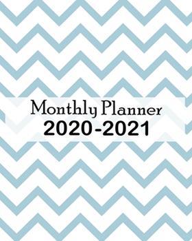 Paperback Monthly Planner 2020-2021 : Jan 1, 2020 to Dec 31, 2021: Monthly Planner + Calendar Views Schedule Organizer Book