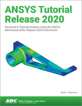 Paperback Ansys Tutorial Release 2020 Book