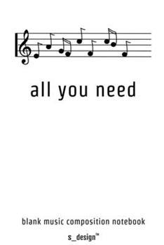 Paperback Musik Notizbuch Zum Song-Schreiben / Song-Writing, Songtexten / Songtext Schreiben : [120 Seiten Weisses Blanko Noten-Papier ] [German] Book