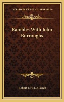 Hardcover Rambles with John Burroughs Book